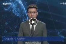 مذيع غير تقليدي في الصين