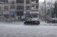 كميات الأمطار التراكمية الهاطلة حتى صباح 23/12/2018