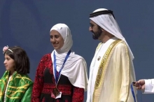عفاف شريف تفوز بمسابقة تحدي القراءة العربي