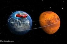 تسلا تفاجئ العالم بإرسال سيارة رودستر لتدور حول كوكب المريخ