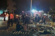 ارتفاع حصيلة الاصابات الى 45 اصابة جراء حريق هائل في ...