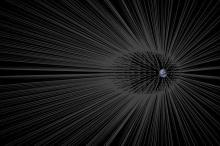 إعصار سريع للغاية من المادة المظلمة يهب على الأرض الآن