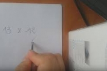 طريقة حسابية رائعة جدا لضرب الأعداد بسرعة و بكل سهولة ...