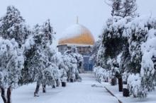 طقس فلسطين ينشر توقعاته المفصلة للأشهر الثلاثة القادمة - ثلوج ...