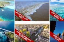 بالصور| حقائق مذهلة حول محيطات وأنهار وبحيرات الأرض
