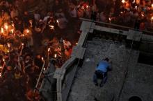 بالفيديو..باحثون يفتحون قبر السيد المسيح -نبي الله عيسى عليه السلام- ...