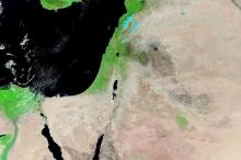 أقمار ناسا ترصد الغطاء الربيعي الأخضر وهو يغطي مساحات واسعة ...
