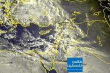 تطورات الحالة الجوية للساعات القادمة