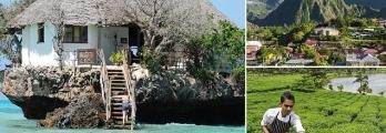 بالصور  سحر جزر الفردوس في المحيط الهندي الغربي المدهش