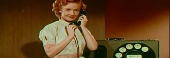 لقطات تكشف إحدى أولى مكالمات الفيديو في العالم
