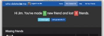 """تطبيق جديد يعلمك من حذفك عن """"فيس بوك"""""""