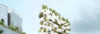 «الغابة البيضاء» برج سكني في باريس يضم 2000 شجرة