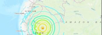 زلزال مدمر بقوة 8 درجات يضرب أربع دول لاتينية