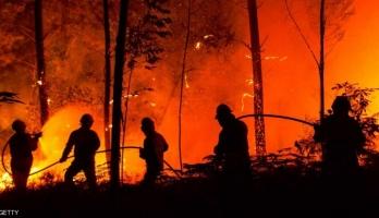 مقتل العشرات بحرائق هائلة في البرتغال وإسبانيا