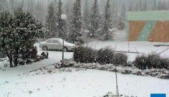 """حوض قطبي """"مغلق"""" يتمركز فوق بلاد الشام يوم الجمعة ..فهل ستتساقط الثلوج ..."""
