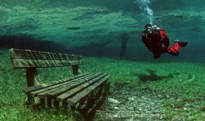 ستيريا: حديقة شتوية تغرق في موسم الصيف ... شاهد الفيديو والصور