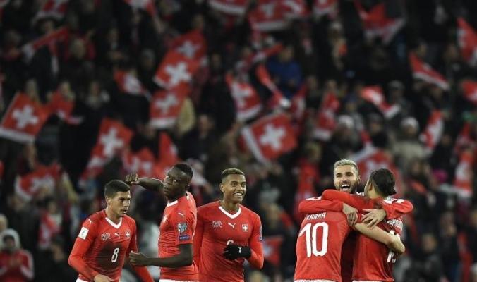 سويسرا تتعادل مع أيرلندا الشمالية وتصعد لكأس العالم