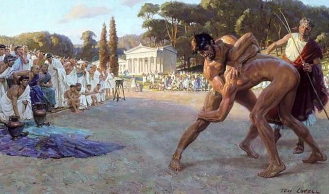 """رياضي مات على المنصة وتوجت جثته """"بطلا أولمبيا"""""""