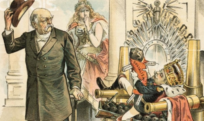 كيف تكهّن موحّد ألمانيا بحرب عالمية وخراب بلاده؟