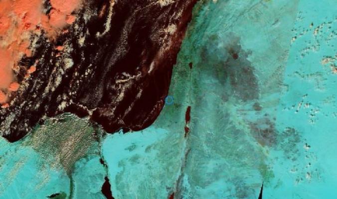"""طلائع المنخفض""""ميرون"""" تقترب من حوض شرق المتوسط والسواحل الفلسطينية ..فلسطين في مرمى """"النيران"""" غداً بمشيئة الله تعالى"""
