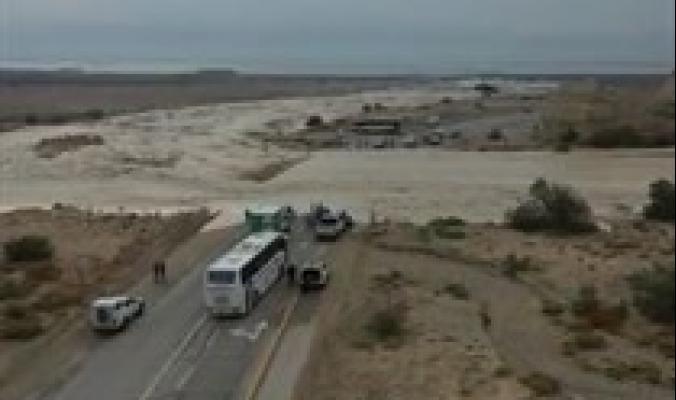 أمطار يوم تجاوزت 120 بالمئة من المعدل السنوي في وادي عربة