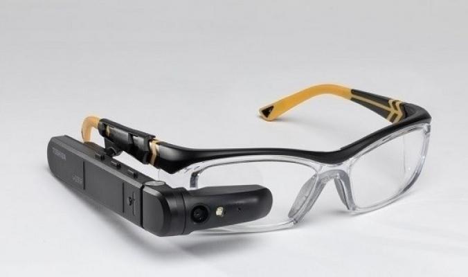 توشيبا تطلق نظارة ذكية تحل محل لاب توب