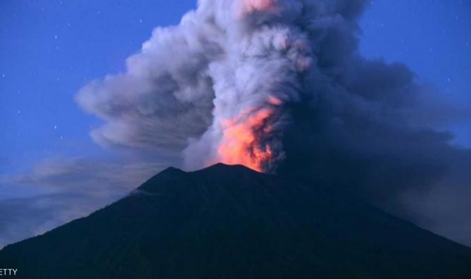 إندونيسيا.. تراجع نشاط بركان بالي