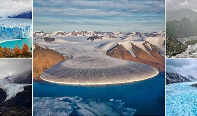 من 'Elephant Foot' غرينلاند إلى ألسنة الجليد بألاسكا.. الصور المذهلة للأنهار الجليدية في العالم