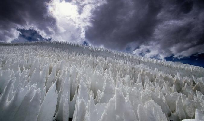 """ميكروبات تتغلب على أقسى بيئات الأرض بفضل أبراج """"الثلوج التائبة"""""""