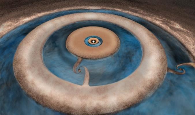 فلكيون شهدوا ولادة كواكب تبعد 400 سنة ضوئية عنا