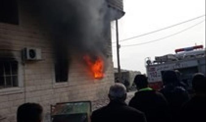 مصرع مواطن وإحراق منازل في شرق الخليل في شجار عائلي