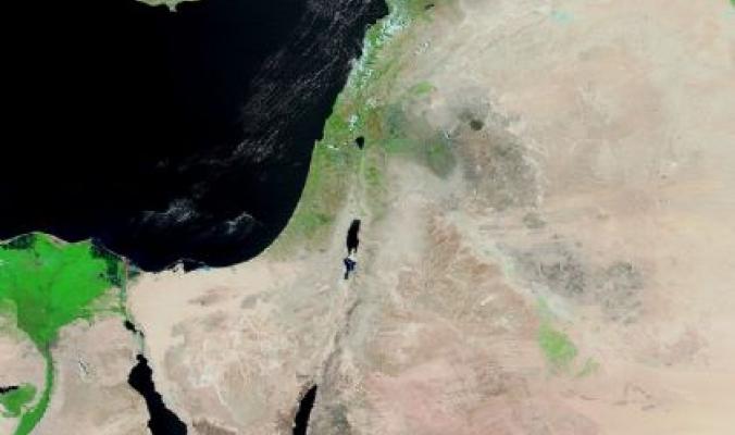+0.2 الشذوذ في درجات الحرارة السطحية في فلسطين خلال شهر رمضان المبارك