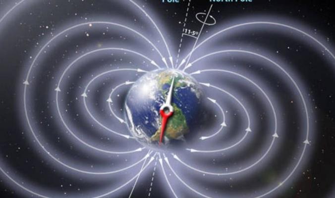 الحمم البركانية تسجل انعكاس المجال المغناطيسي