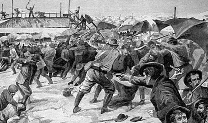 """""""سخرية"""".. انتهت بعنف وقتلى وأزمة بين فرنسا وإيطاليا"""