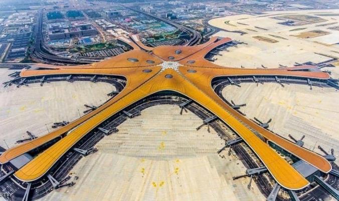انتهاء العمل في مطار بكين.. صالة سفر بحجم 140 ملعب كرة قدم