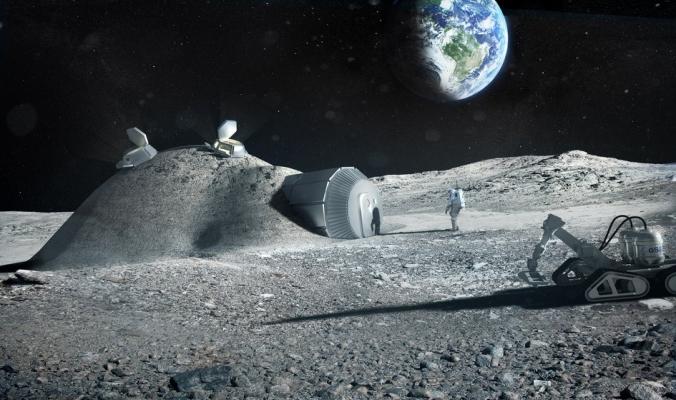 ناسا تبحث عن شركاء في مشروع التنقيب عن المعادن في القمر