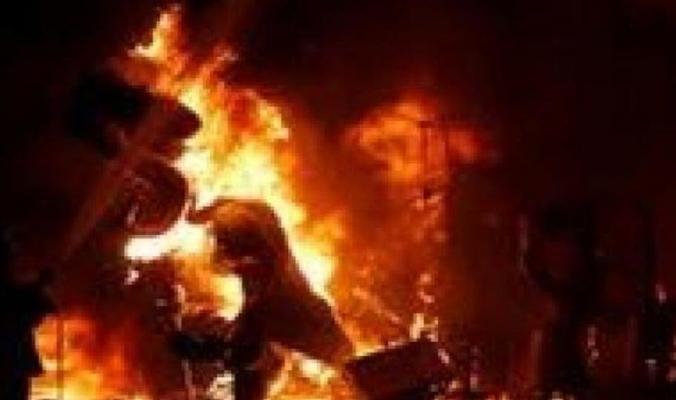 كوري جنوبي يشعل النار في نفسه بسبب تكنولوجيا اليابان