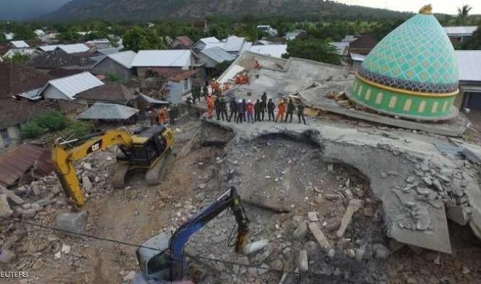 زلزال مدمر جديد يضرب إندونيسيا
