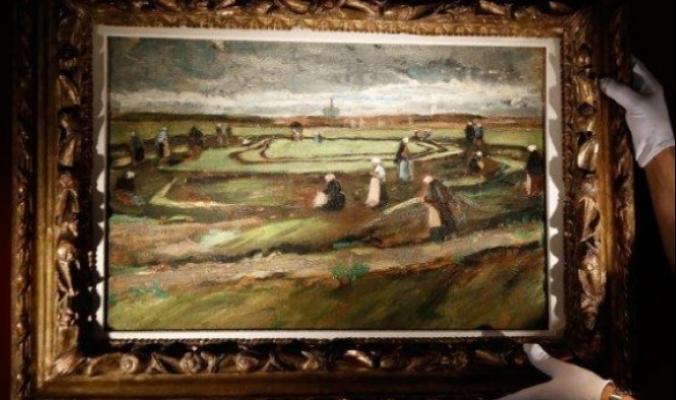 سبعة ملايين يورو ثمنًا للوحة لفان غوخ