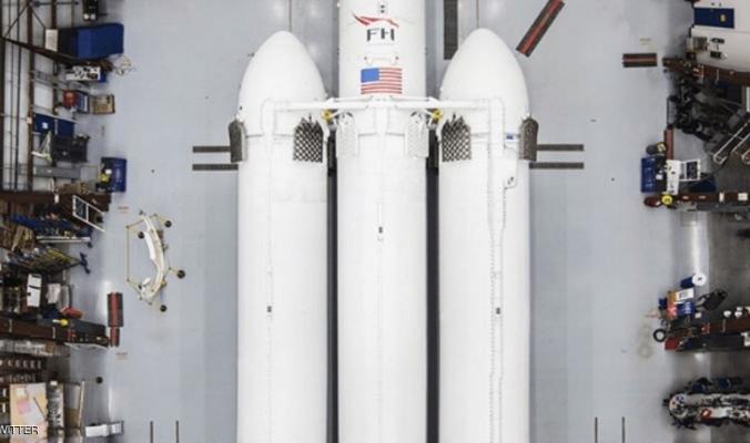 أكبر صاروخ فضائي سيطلق في 2018