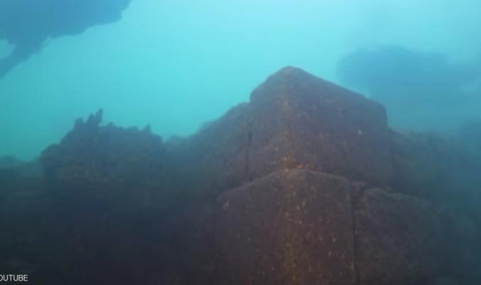 العثور على قلعة غارقة من العصر الحديدي