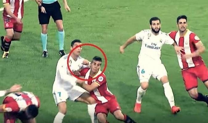 هل يتعرض رونالدو لعقوبة مغلظة بسبب هذا الاعتداء؟ (فيديو)
