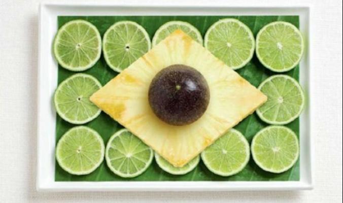 لنشاهد معاً .....كيف سيكون شكل أعلام دول العالم إذا كانت مصنوعة من الطعام!: