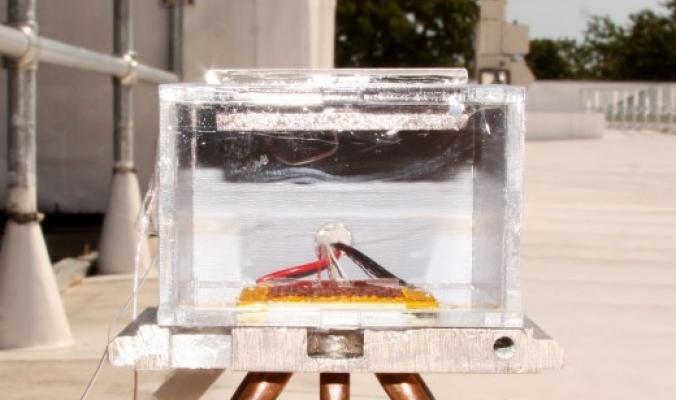 تقنية جديدة لاستخلاص المياه بأشعة الشمس