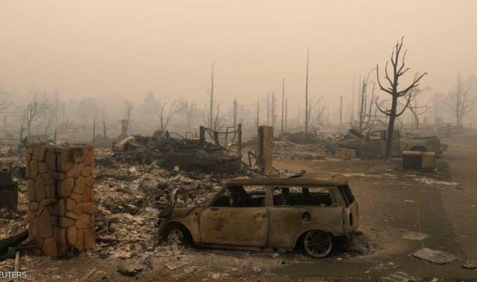 إعلان الطوارئ في كاليفورنيا لمواجهة الحرائق الضخمة