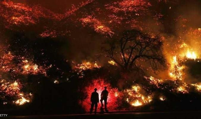 ارتفاع ضحايا حرائق كاليفورنيا.. وبلدة مُسحت عن الخريطة