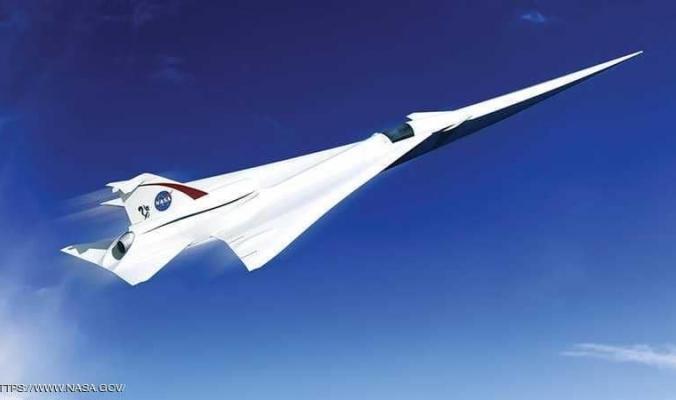 """ناسا تختبر """"طائرة مذهلة"""".. صامتة وأسرع من الصوت"""