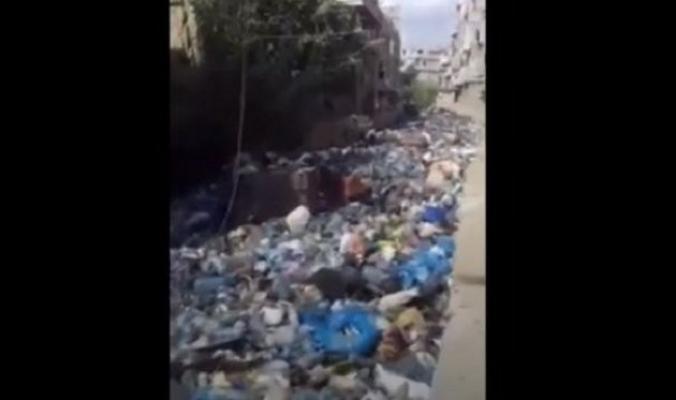 """لبنان """"يبهر"""" العالم بـ""""نهر الزبالة"""""""
