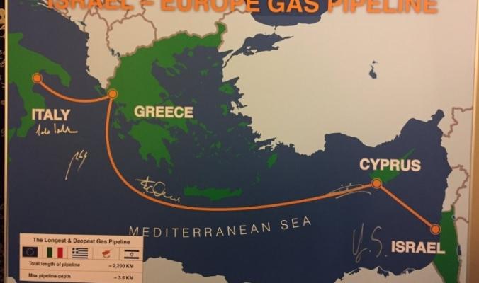 خط أنابيب شرق المتوسط...إسرائيل تصدر الغاز لأوروبا متجاهلة الحقوق الفلسطينية