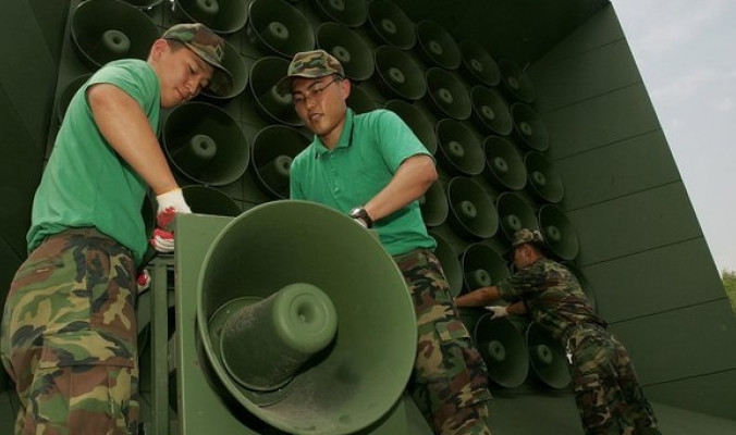 الميكروفونات التي ظلّت عقوداً تملأ بأصواتها حدود الكوريتين تم إسكاتها.. ماذا كانت تبث قبل أن يوقفها التقارب بين الدولتين؟